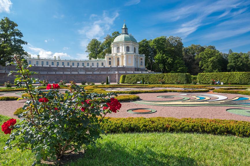 Дворец и парк в Ораниенбауме