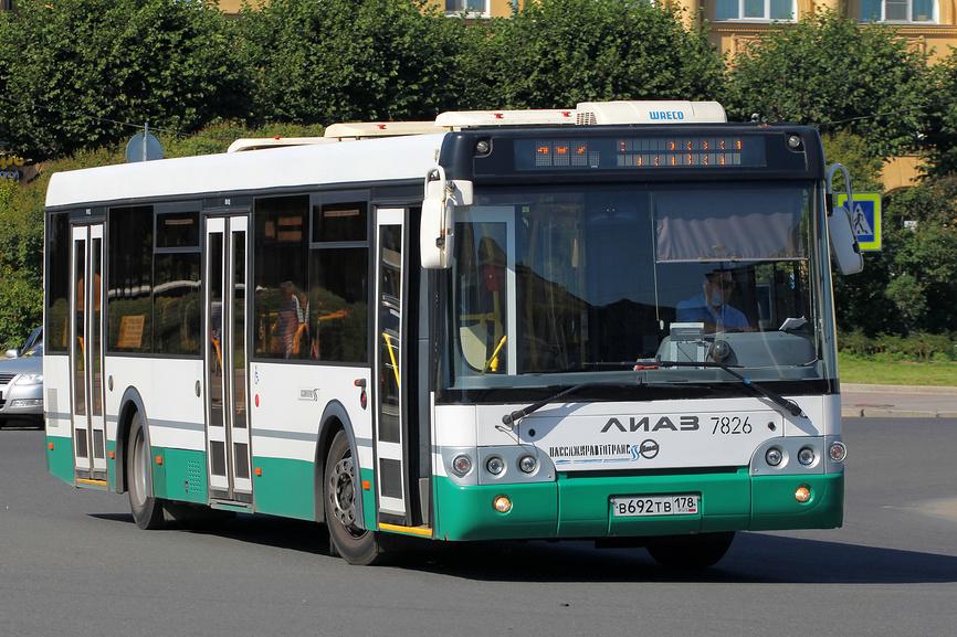 Современный городской автобус