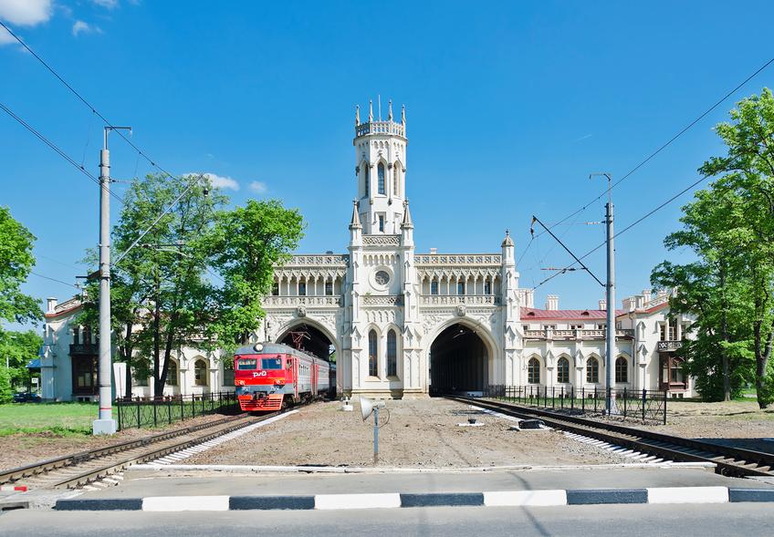 """Железнодорожная станция """"Новый Петергоф"""""""