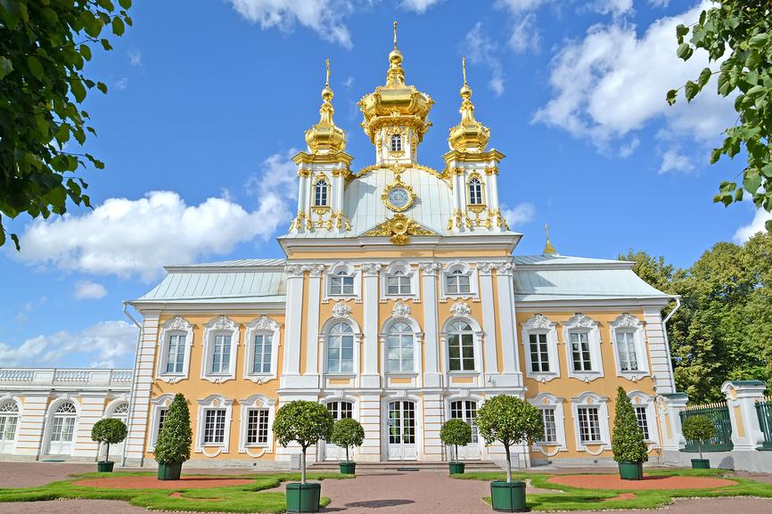 Петропавловская церковь в Петергофе